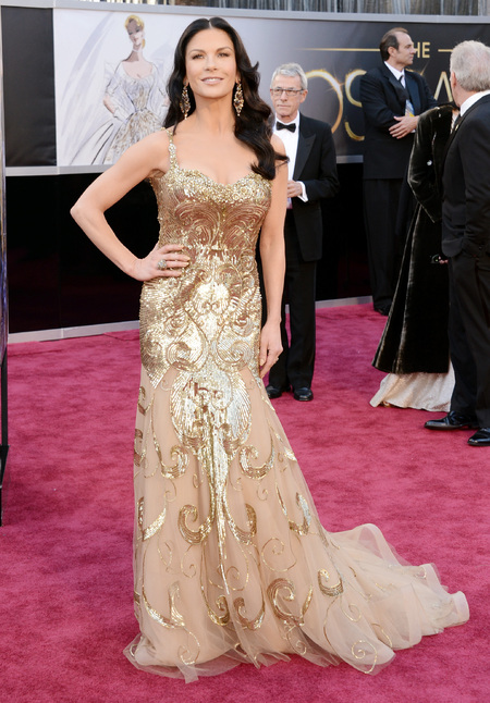 Catherine Zeta-Jones in Zuhair Murad dress