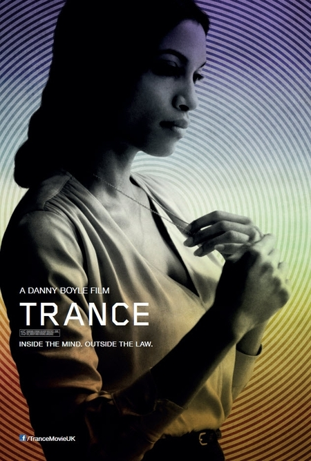 Exclusive Trance poster - Rosario Dawson