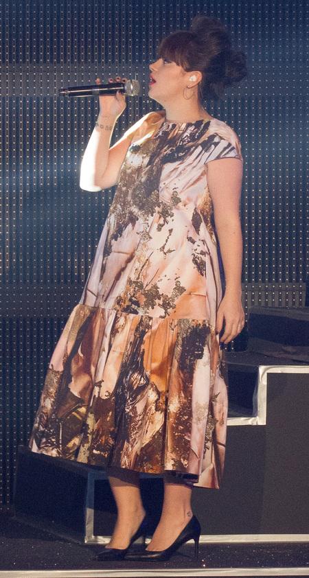 Lily Allen comeback Etam show