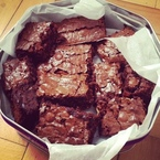 Hawksmoor's chocolate brownies recipe