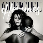 Kim Kardashian and Kanye West naked L'Officiel cover