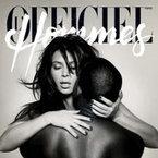 Kim Kardashian and Kanye West naked L'Officiel cover
