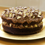 Kneel before the chocolate Malteser cake