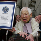 Oldest woman in world says tasty food is the key