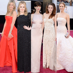 Let's revisit the Oscars 2013 red carpet