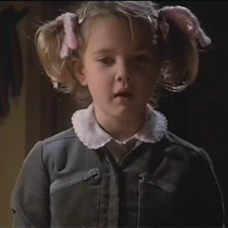 Drew Barrymore in E. T