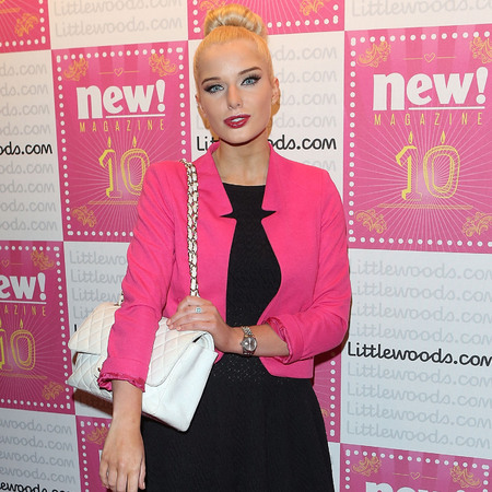 Helen Flanagan's quilted leather Chanel bag