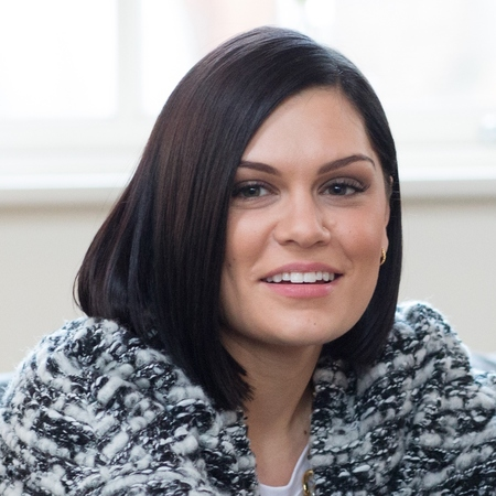 Jessie J's soft black bob