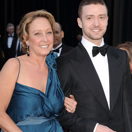 Justin Timberlake and mum Lynn Harless at the 83rd Annual Academy Awards
