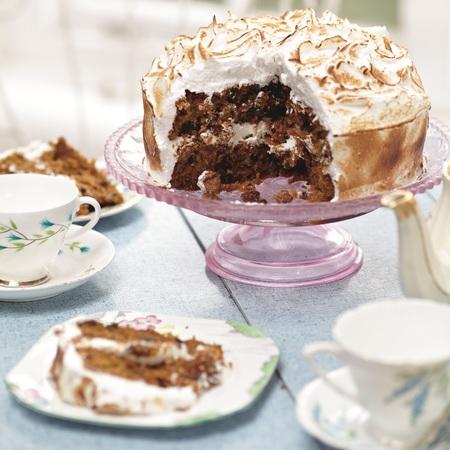 Stacie Stewart's skinny meringue cake