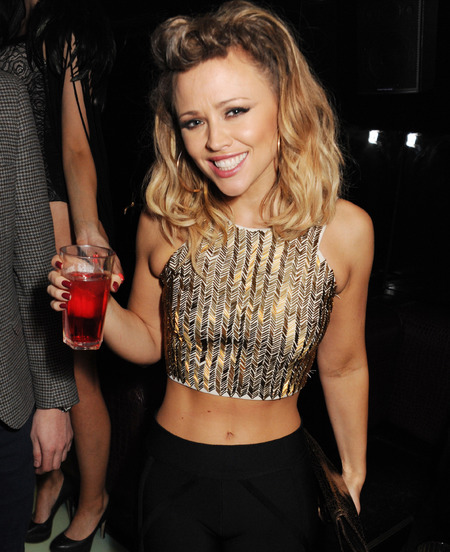 Kimberley Walsh's 90s style crop top