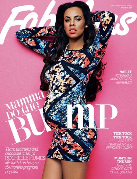 Rochelle Humes for Fabulous magazine
