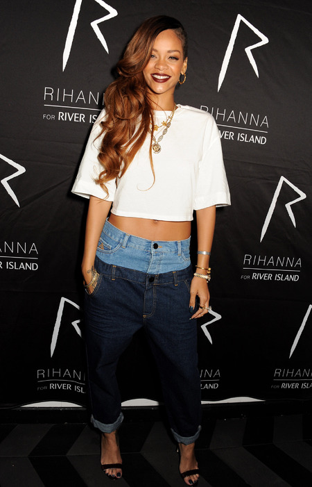 Rihanna's River Island crop top