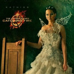 Jennifer Lawrence as Katniss Everdeen, The Hunger Games Catching Fire