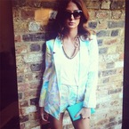 SHOP! Millie Mackintosh suits up in Love Label paisley prints