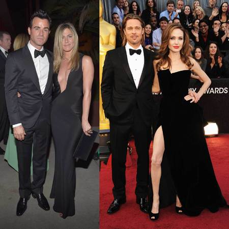 Jennifer Aniston And Brad Pitt 2013 Dec 10  2013 Even though