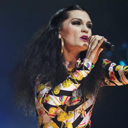 Jessie J's backcombed hair