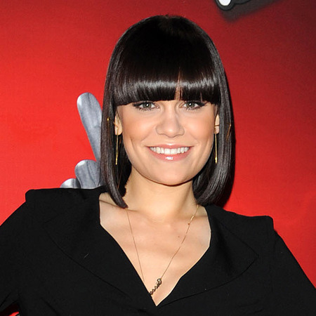 Jessie J's black bob and fringe