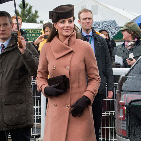 Kate Middleton at day 4 Cheltenham races
