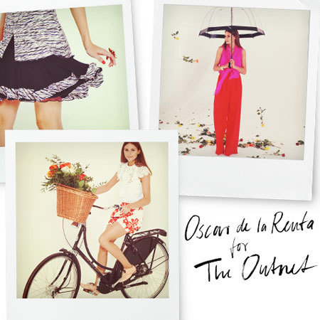 Oscar de la Renta for THE OUTNET modelled by Olivia Palermo