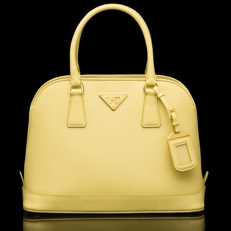 counterfeit prada - prada yellow handbag