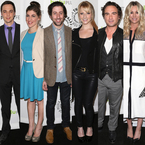 The Big Bang Theory cast scrub up for night out
