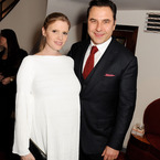 Lara Stone & David Walliams welcome a baby boy?
