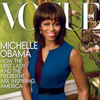 Michelle Obama covers US Vogue's April issue