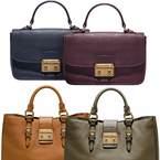 BAG LOVE: Miu Miu's new Madras leather handbags