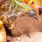 Step-by-step roast leg of lamb recipe