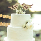 5 of the best wedding cake toppers