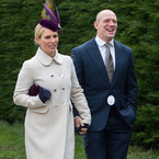Zara Phillips does chic regal style for Cheltenham Festival