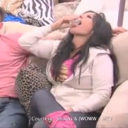 Jersey Shore drink Snooki's breast milk