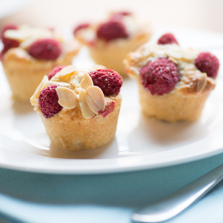 Raspberry Friands - recipe - handbag.com