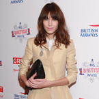 Alexa Chung dons camel Carven at The Big British Invite