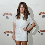 SHOP! Caroline Flack's sheer Topshop shirt