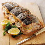 How to video: Salmon Fillets Stuffed with Cod