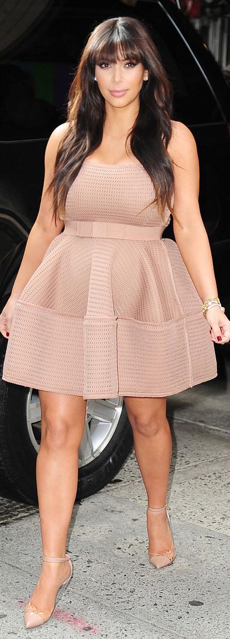 Kim Kardashian pregnancy wardrobe
