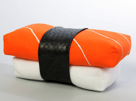 Cushions that look like food