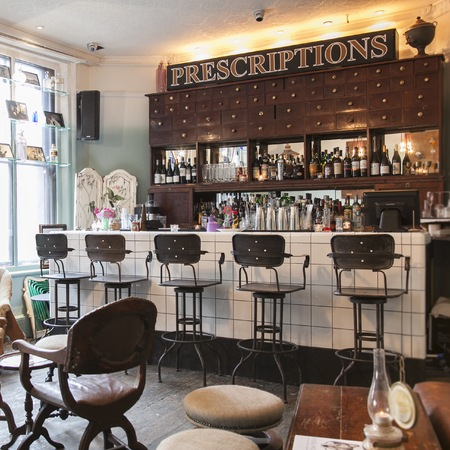 House Beauty  on London Bar Review  House Of Wolf Apothecary Bar   Beauty   Hair News