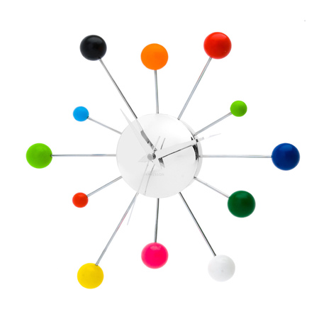 ACHICA_Karlsson Spider Wall Clock, Multi Coloured £22
