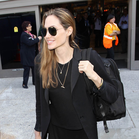 Angelina Jolie at LAX airport