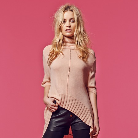Laura Whitmore models George G21 Talent collection