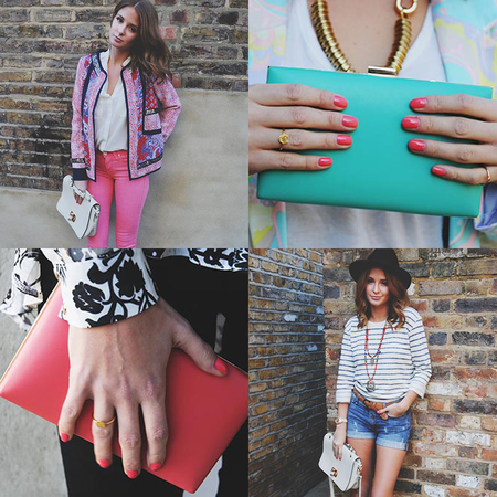 Millie Mackintosh Accessorize handbags