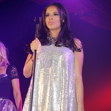 Rochelle Humes performs with The Saturdays at GAY