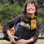 Jane Birkin steps out with her namesake Hermes bag