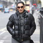YAY OR NAY: Kelly Brook does 90s layers in London