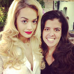 HAIR ENVY: Rita Ora's Brazilian blow-dry
