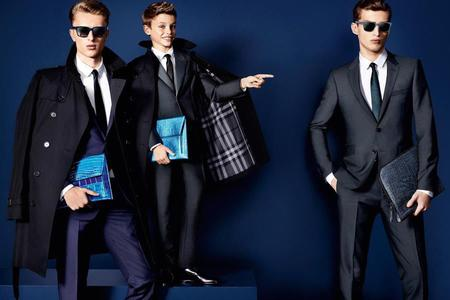Romeo Beckham models for Burberry SS13