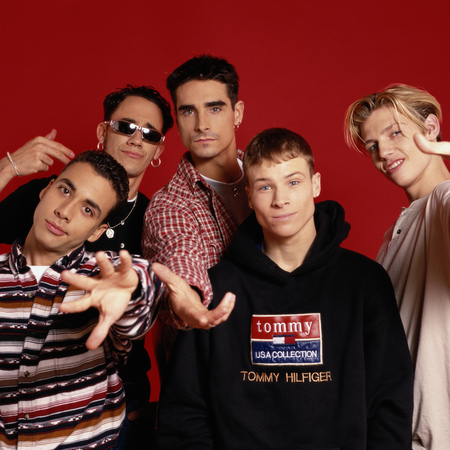 The Backstreet Boys in 1995